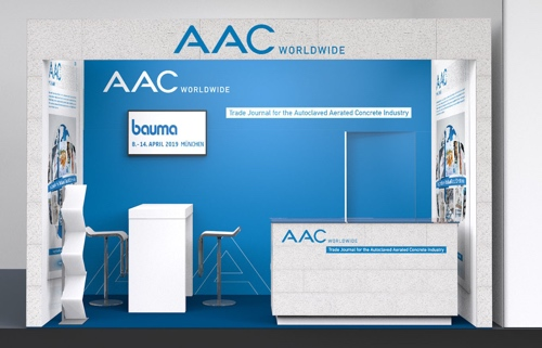 Visit us at hall B1 booth 138 and receive a free copy of AAC worldwide.